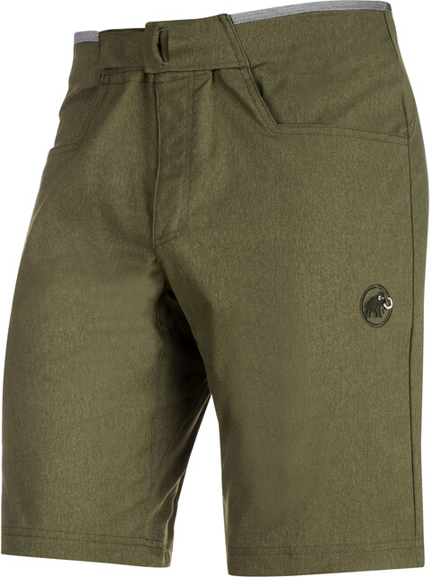 Mammut Massone Spodnie krótkie Mężczyźni zielony